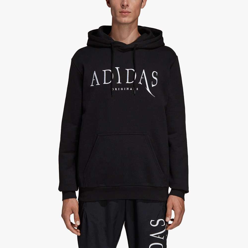 アディダス adidas Originals メンズ トップス パーカー【Planetoid Pullover Hoodie】Black/White