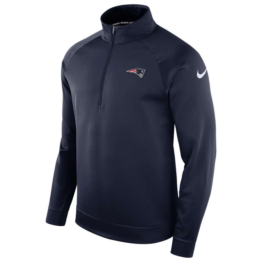 ナイキ Nike メンズ トップス【NFL Therma 1/2 Zip L/S Top】College Navy