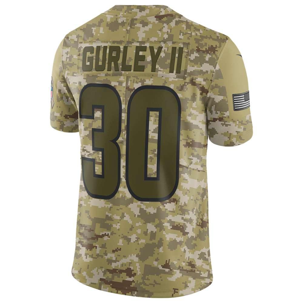 ナイキ Nike メンズ トップス【NFL Salute To Service Limited Jersey】Camper Green