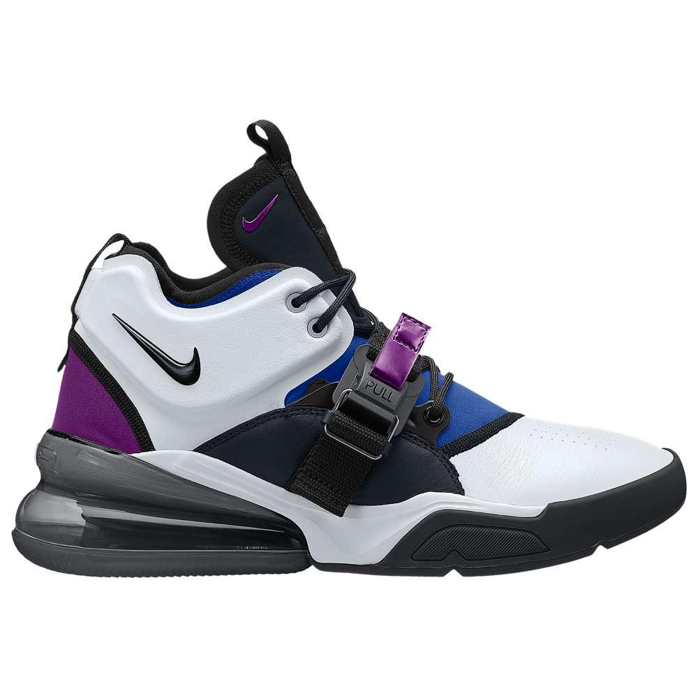 ナイキ Nike メンズ バスケットボール シューズ・靴【Air Force 270】White/Black/Lyon Blue/Bold Berry