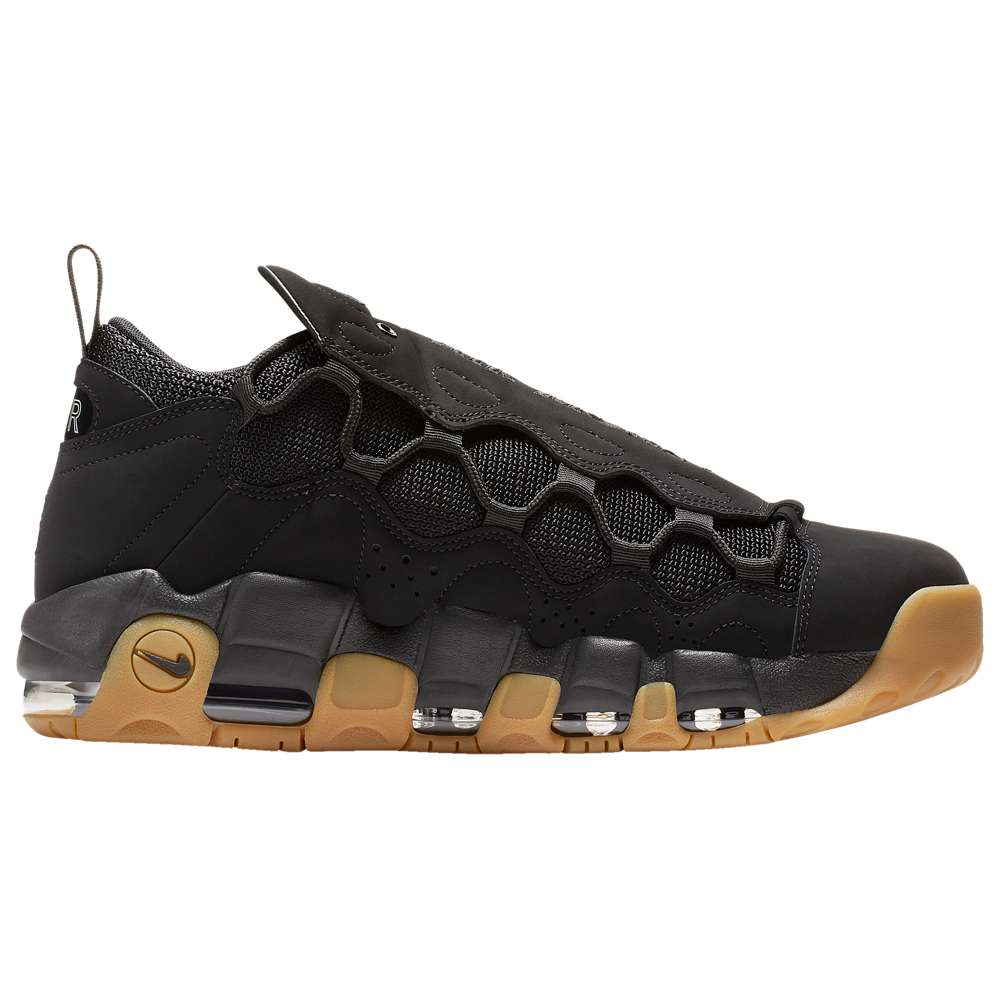 ナイキ Nike メンズ バスケットボール シューズ・靴【Air More Money】Black/Black/Gum Light Brown