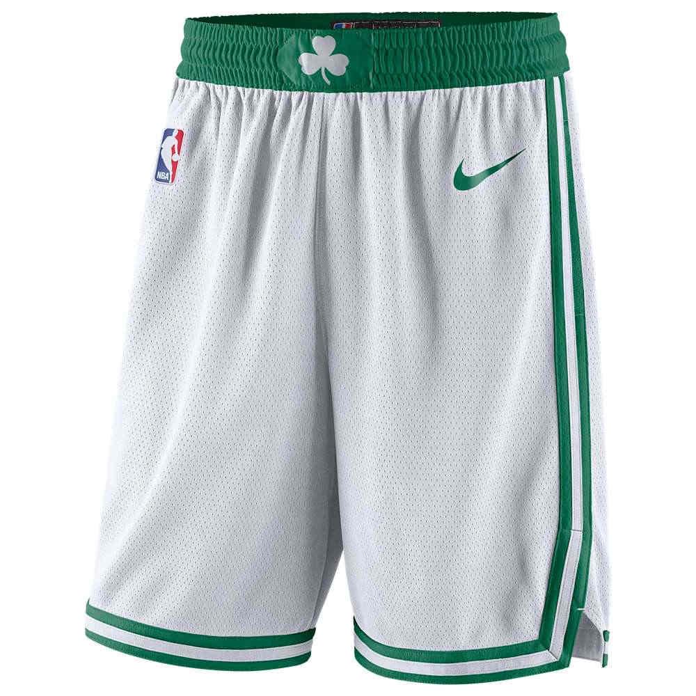 ナイキ Nike メンズ バスケットボール ボトムス・パンツ【NBA Swingman Shorts】White/Clover