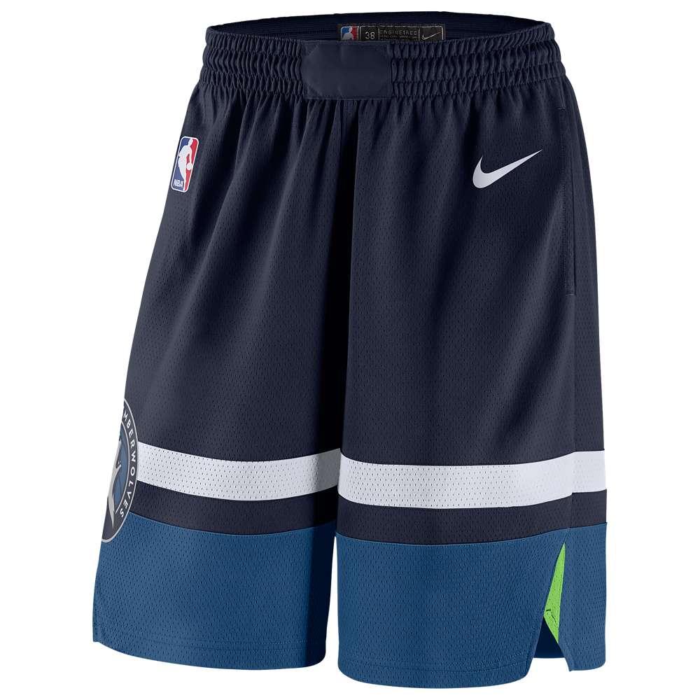 ナイキ Nike メンズ バスケットボール ボトムス・パンツ【NBA Swingman Shorts】College Navy/White