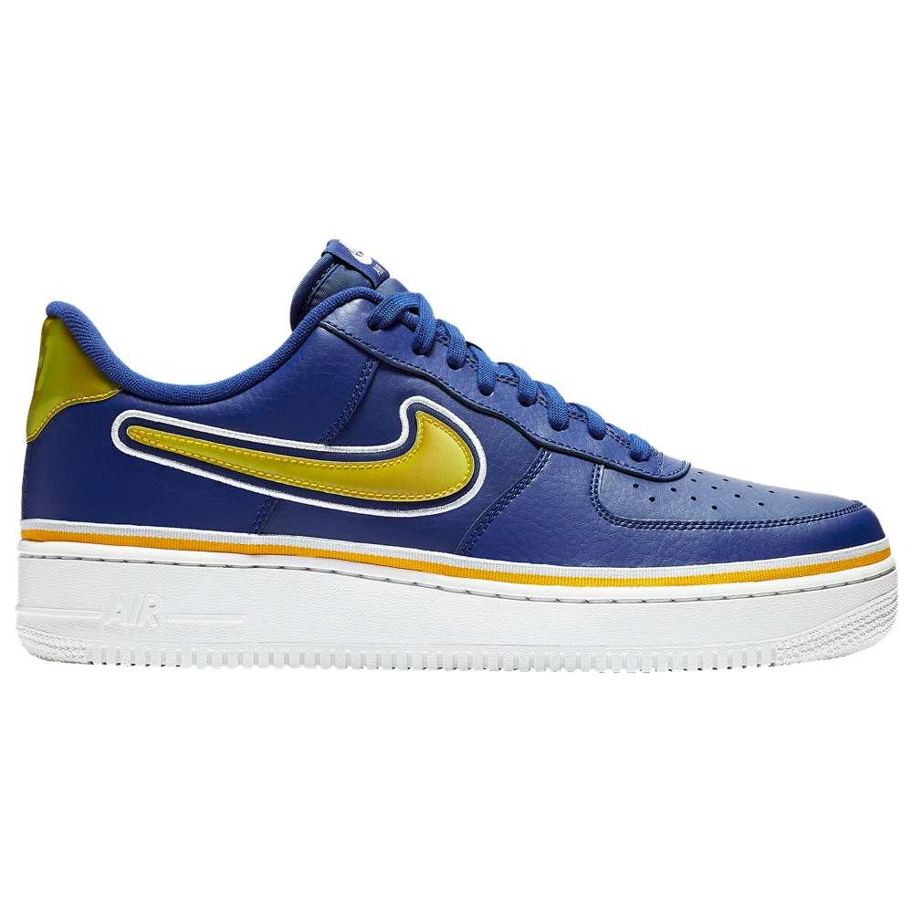 ナイキ Nike メンズ バスケットボール シューズ・靴【Air Force 1 LV8】Deep Royal Blue/University Gold/Off White