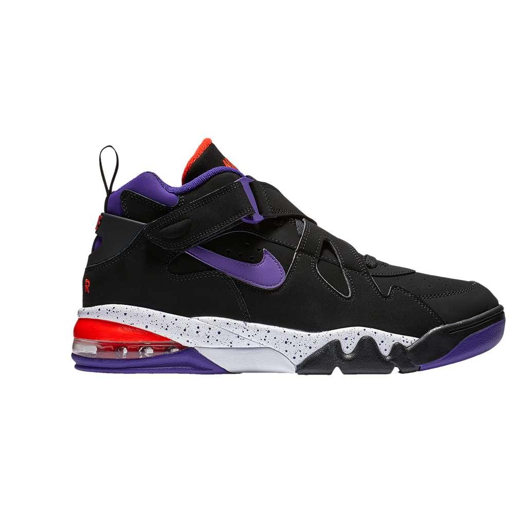 ナイキ Nike メンズ バスケットボール シューズ・靴【Air Force Max CB】Black/Court Purple/Team Orange/White