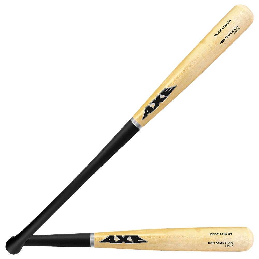 アックスバット Axe Bat メンズ 野球 バット【274 Pro Maple Baseball Bat】Black/Tan