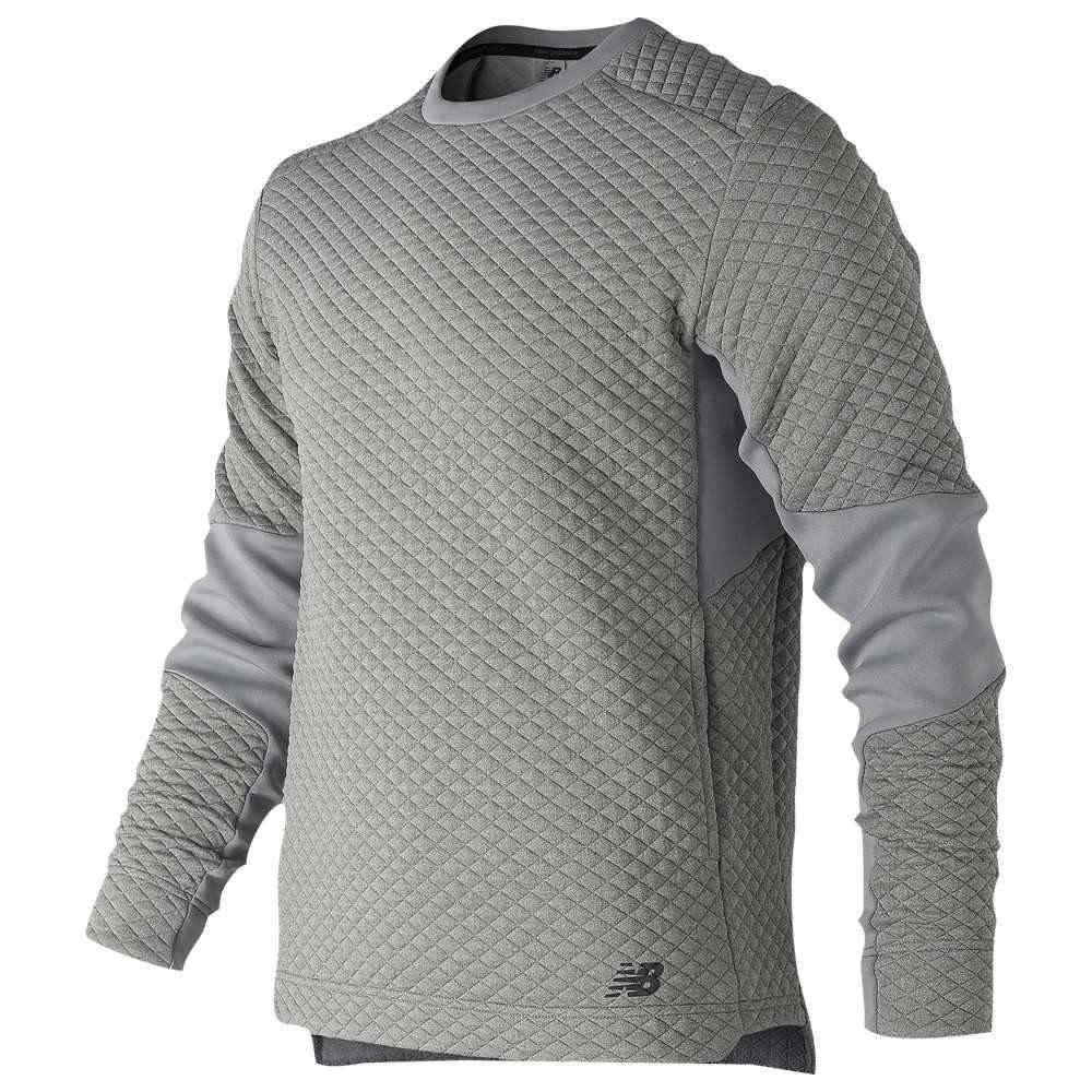 ニューバランス New Balance メンズ フィットネス・トレーニング トップス【Heatloft Crew Neck Pullover】Athletic Grey