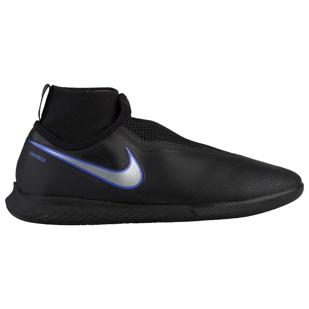 ナイキ Nike メンズ サッカー シューズ・靴【Phantom VisionX Pro DF IC】Black/Metallic Silver/Racer Blue