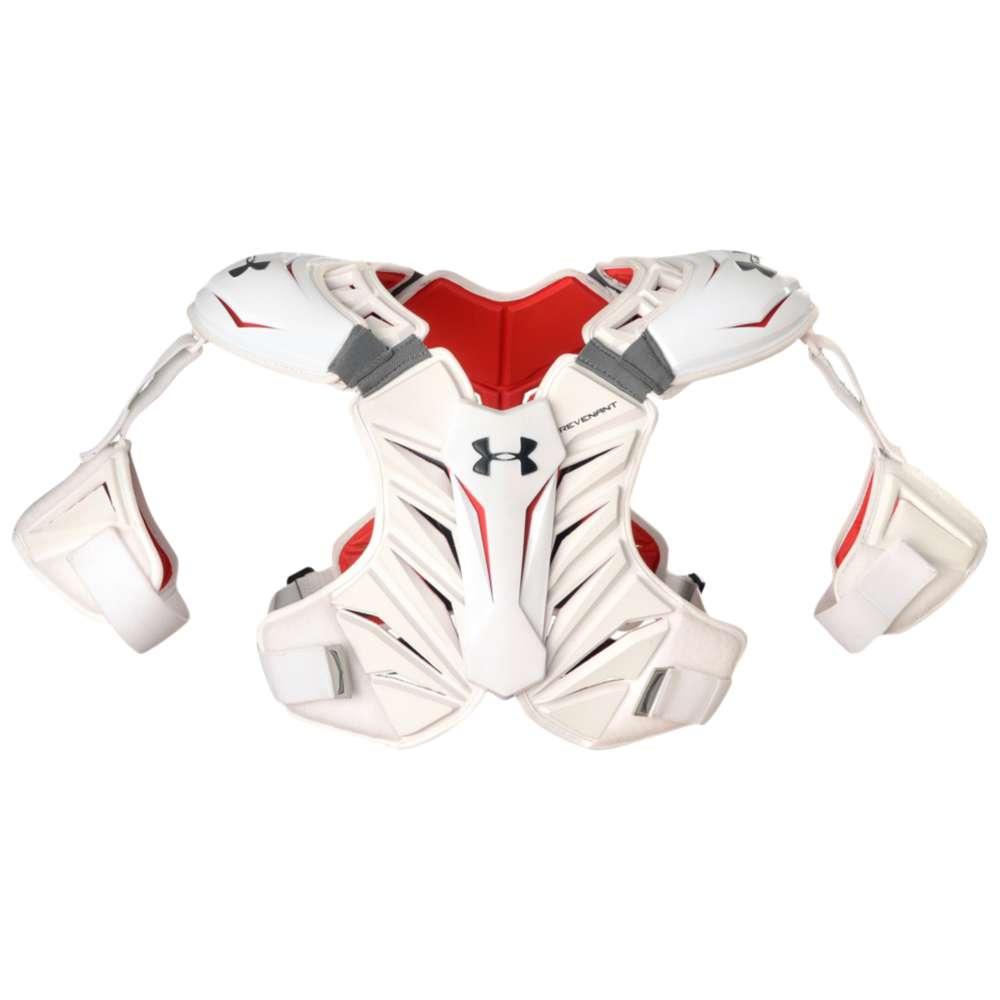 アンダーアーマー Under Armour メンズ ラクロス プロテクター【Revenant Shoulder Pad】White