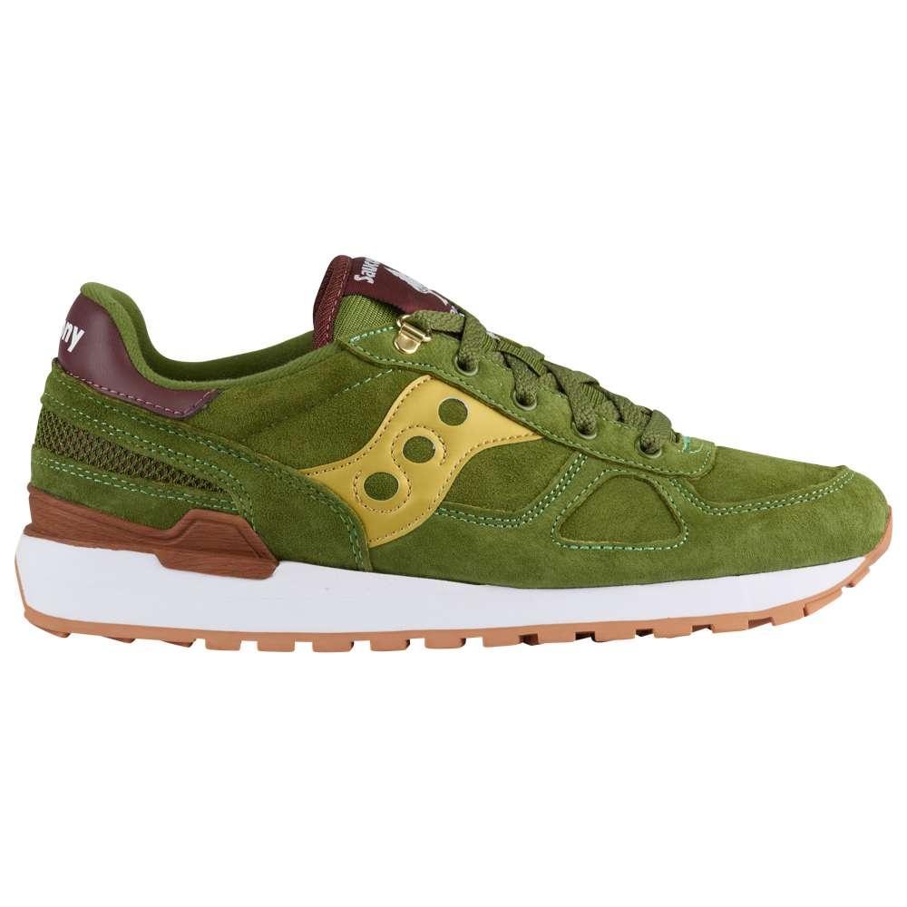 サッカニー Saucony メンズ ランニング・ウォーキング シューズ・靴【Shadow Original】Green/Gold