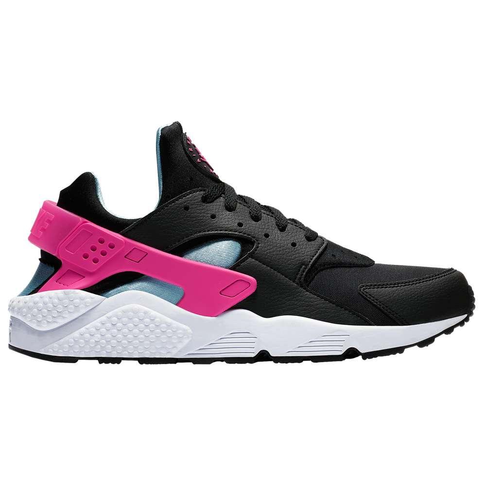 ナイキ Nike メンズ ランニング・ウォーキング シューズ・靴【Air Huarache】Black/Laser Fuchsia/Blue Gale/White
