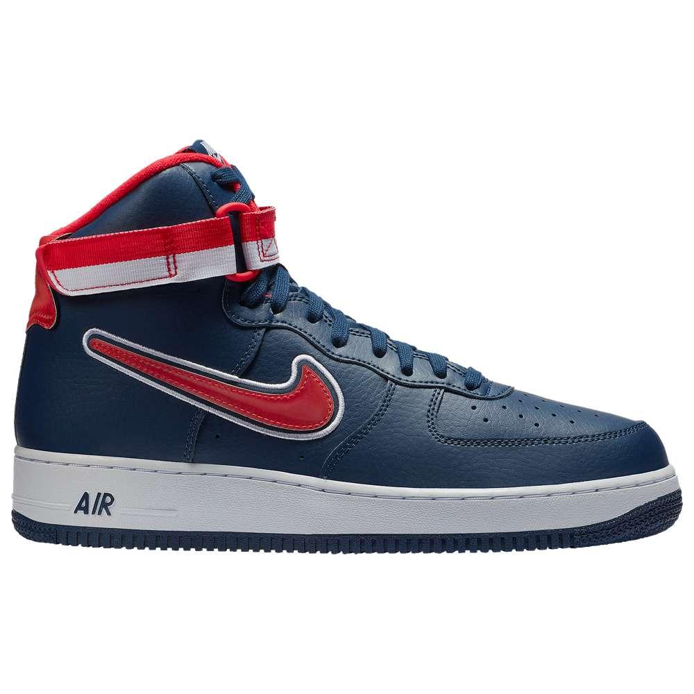 ナイキ Nike メンズ バスケットボール シューズ・靴【Air Force 1 High '07 LV8 Sport】Midnight Navy/University Red/White