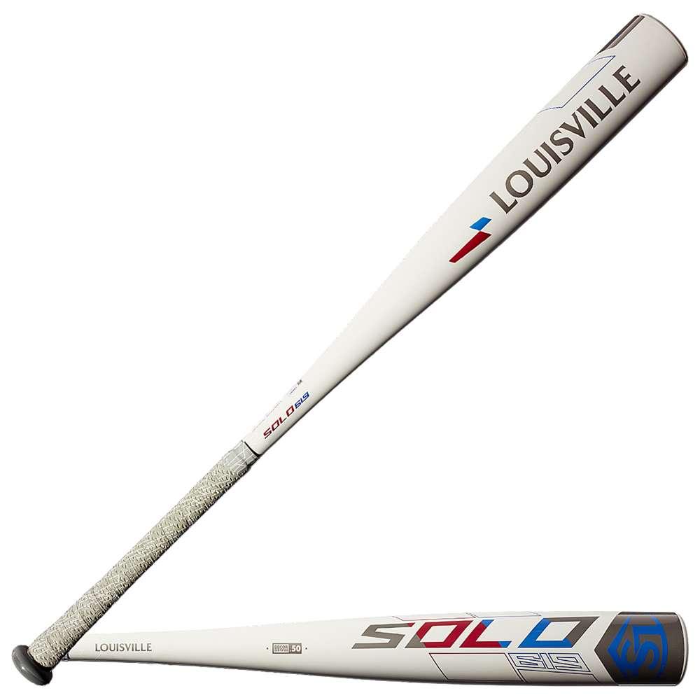 ルイスビルスラッガー Louisville Slugger メンズ 野球 バット【Solo 619 Baseball Bat】Grey/Blue