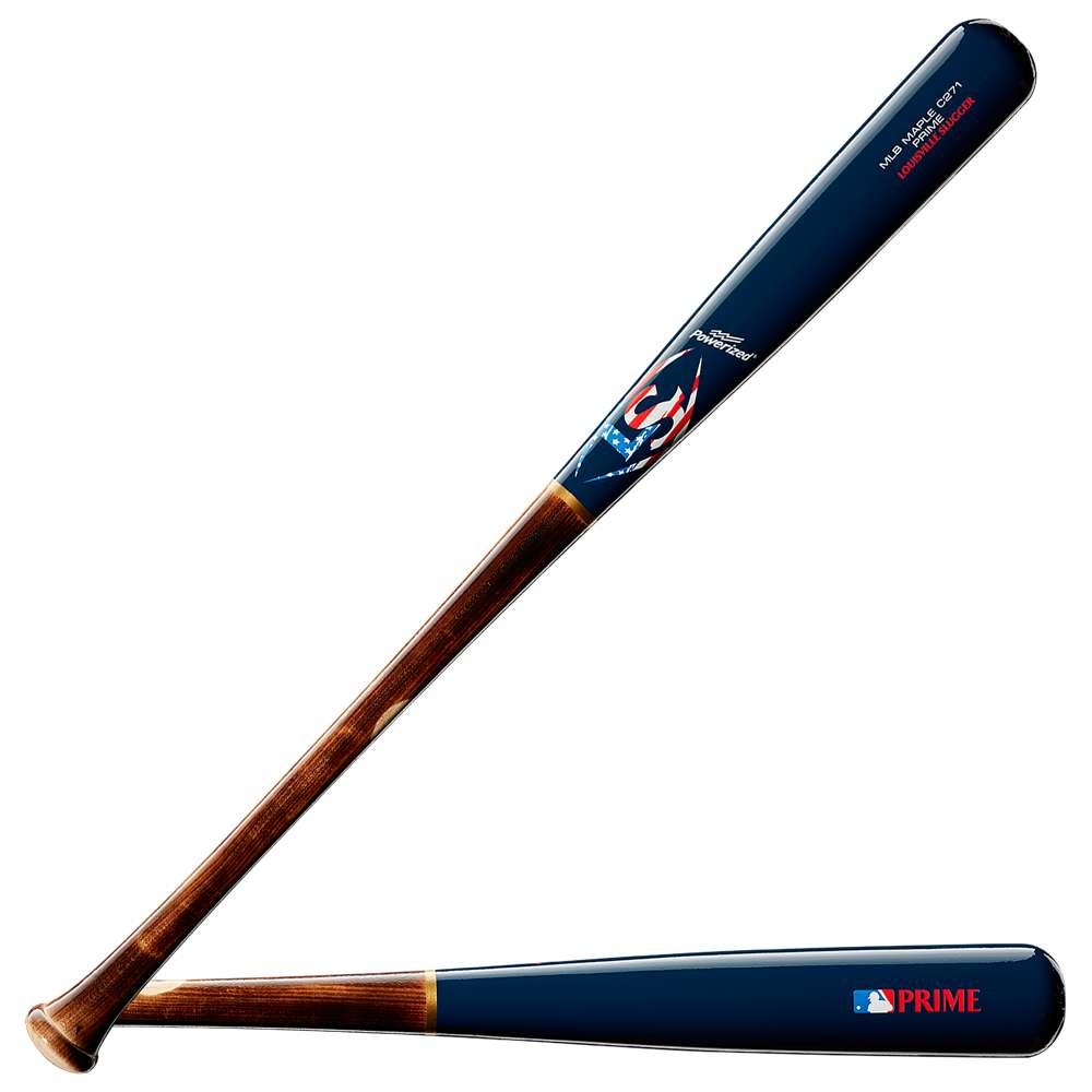 ルイスビルスラッガー Louisville Slugger メンズ 野球 バット【MLB Prime C271 Baseball Bat】Brown/Blue