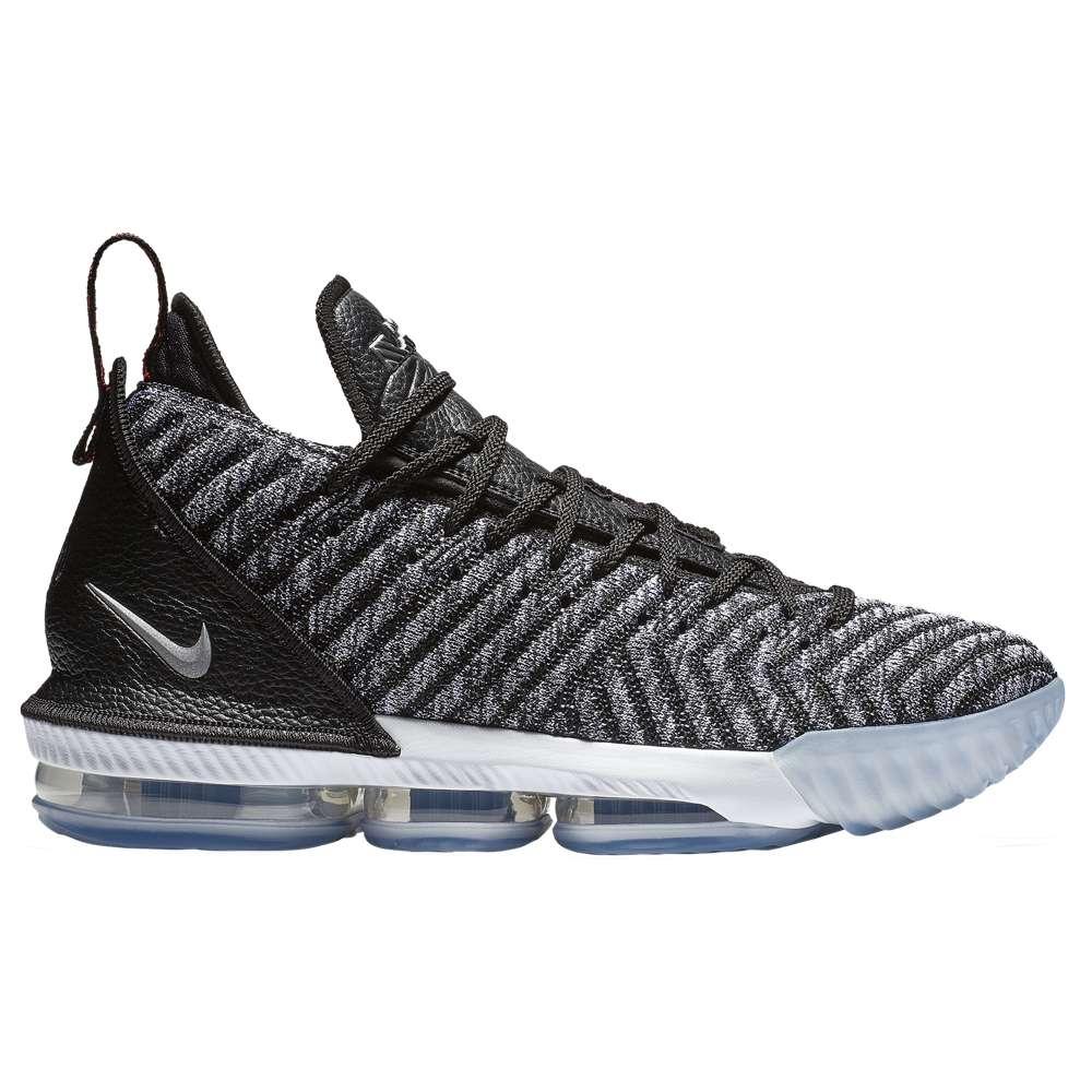 ナイキ Nike メンズ バスケットボール シューズ・靴【LeBron 16】Black/White/Grey