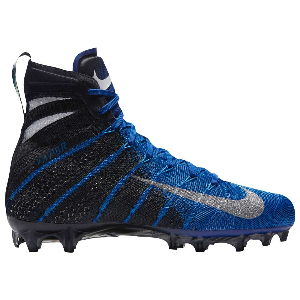ナイキ Nike メンズ アメリカンフットボール シューズ・靴【Vapor Untouchable 3 Elite】Black/Metallic Silver/Game Royal/Photo Blue