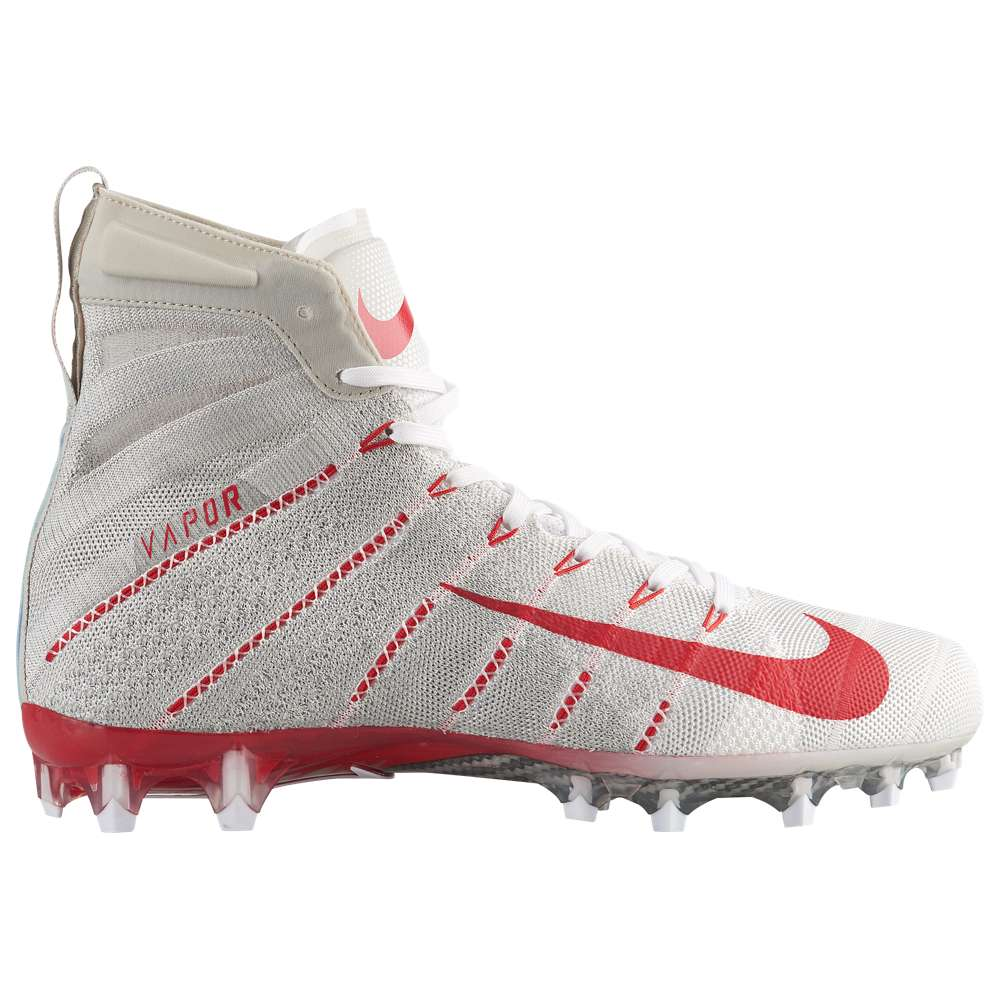 ナイキ Nike メンズ アメリカンフットボール シューズ・靴【Vapor Untouchable 3 Elite】White/University Red/Light Bone/University Red