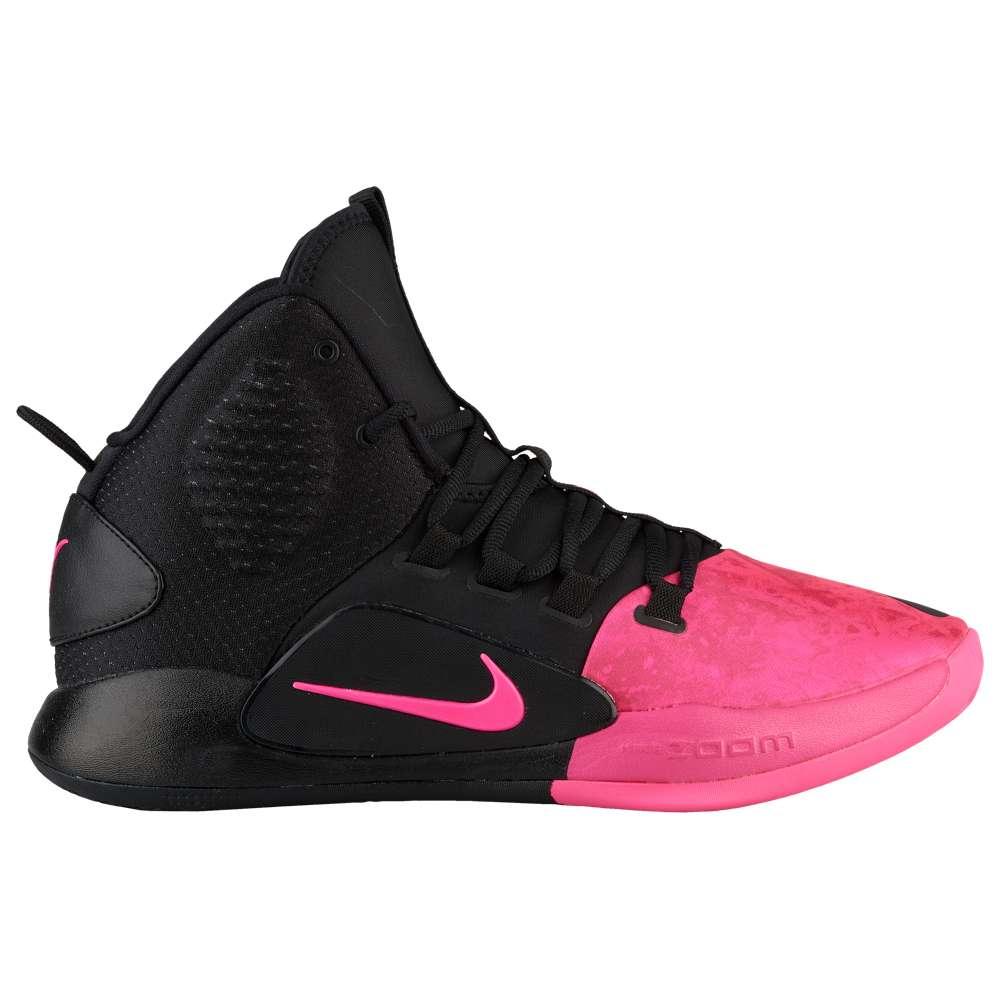 ナイキ Nike メンズ バスケットボール シューズ・靴【Hyperdunk X Mid】Black/Pink Blast