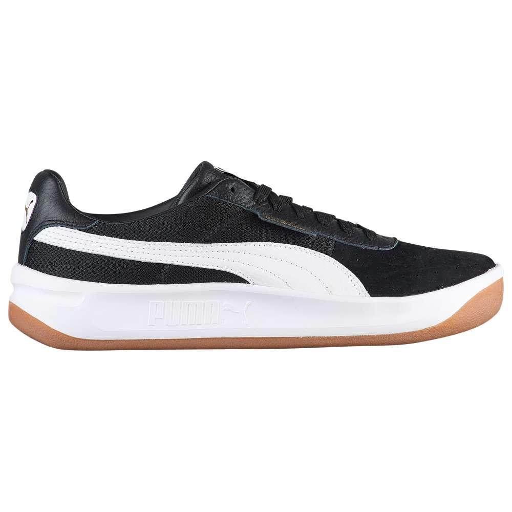 プーマ PUMA メンズ テニス シューズ・靴【California Casual】Black/White/Team Gold