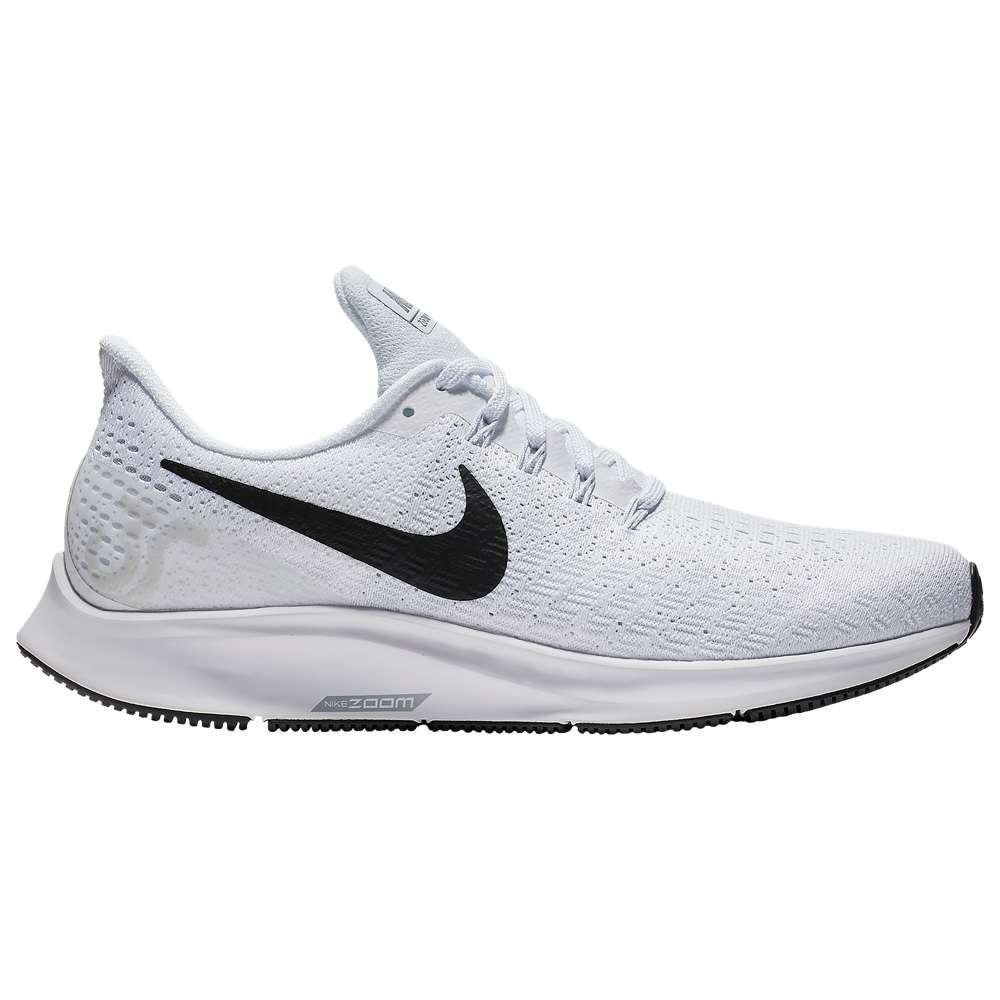 ナイキ Nike レディース ランニング・ウォーキング シューズ・靴【Air Zoom Pegasus 35】White/Black/Pure Platinum/Wolf Grey