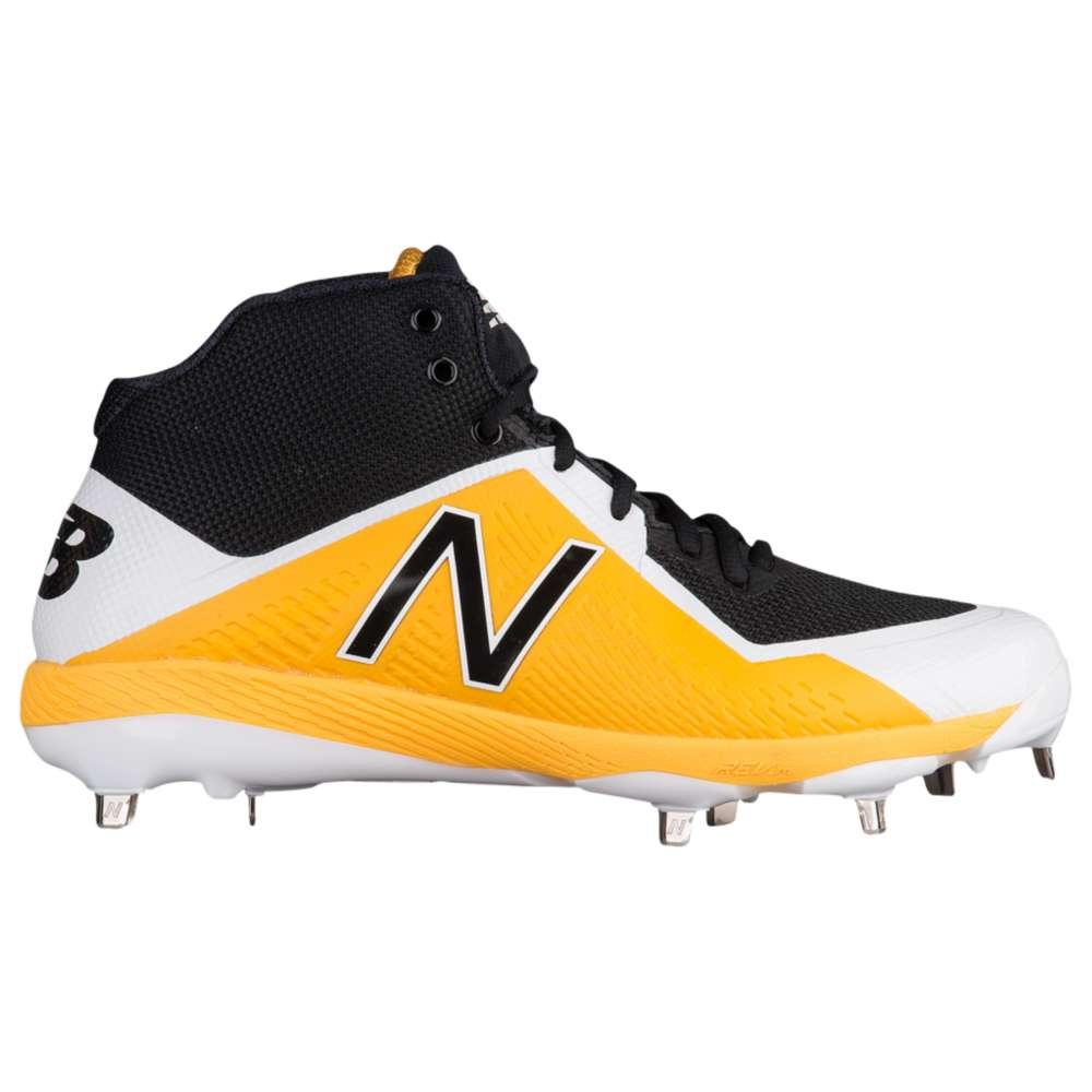 ニューバランス New Balance メンズ 野球 シューズ・靴【4040v4 Metal Mid】Black/Yellow