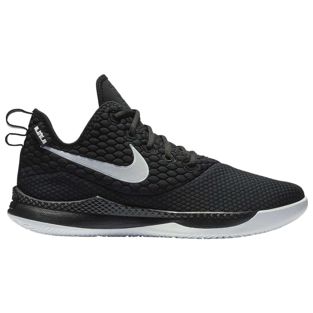 ナイキ Nike メンズ バスケットボール シューズ・靴【LeBron Witness 3】Black/White/Cool Grey