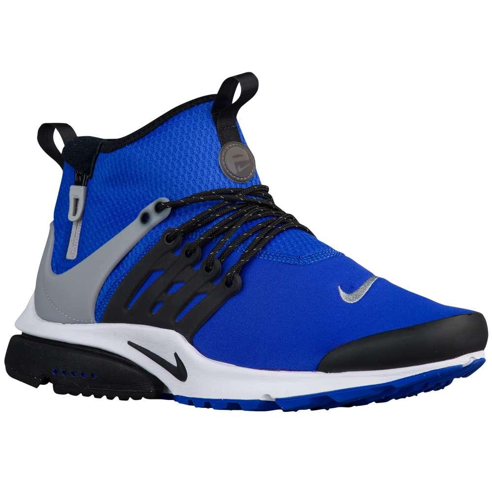 ナイキ Nike メンズ ランニング・ウォーキング シューズ・靴【Air Presto Mid Utility】Paramount Blue/Flat Silver/Black