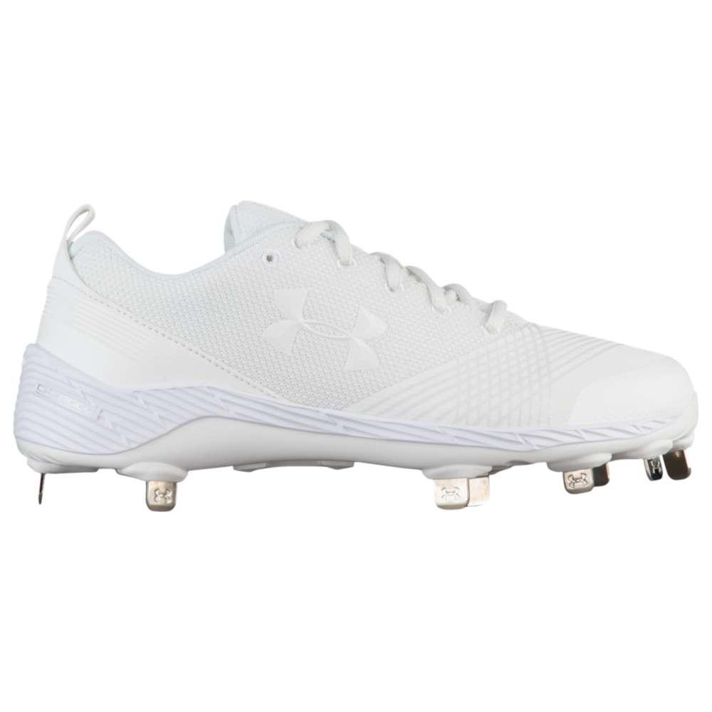 アンダーアーマー Under Armour レディース 野球 シューズ・靴【Glyde St】White/White
