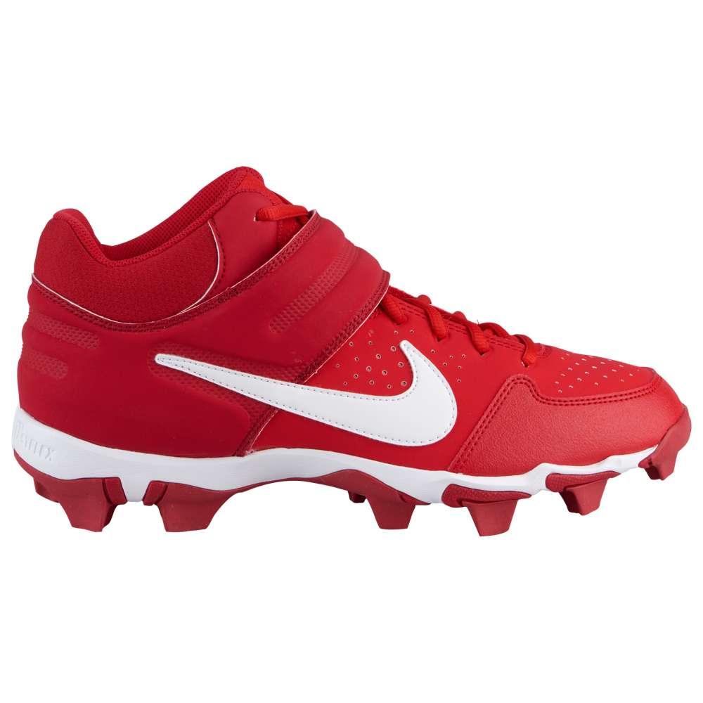 ナイキ Nike メンズ Keystone】University 野球 シューズ・靴 Huarache メンズ【Alpha Huarache Varsity Mid Keystone】University Red/White/Gym Red, カモウチョウ:33944bcc --- obataborsijakarta.info