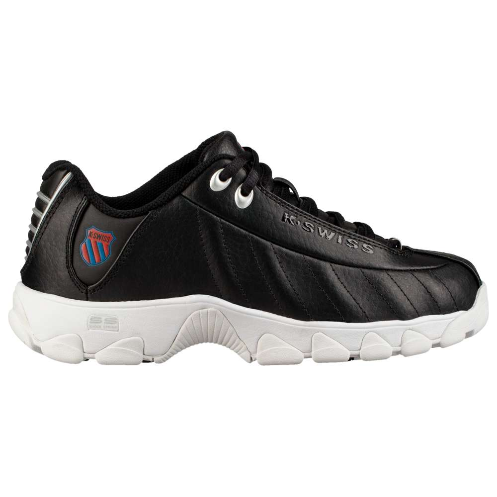 ケースイス K-Swiss レディース テニス シューズ・靴【ST329 Heritage】Black/White/Ribbon Red