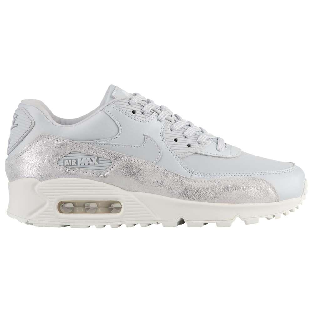 ナイキ Nike レディース ランニング・ウォーキング シューズ・靴【Air Max 90】Pure Platinum/Pure Platinum/White/Platinum