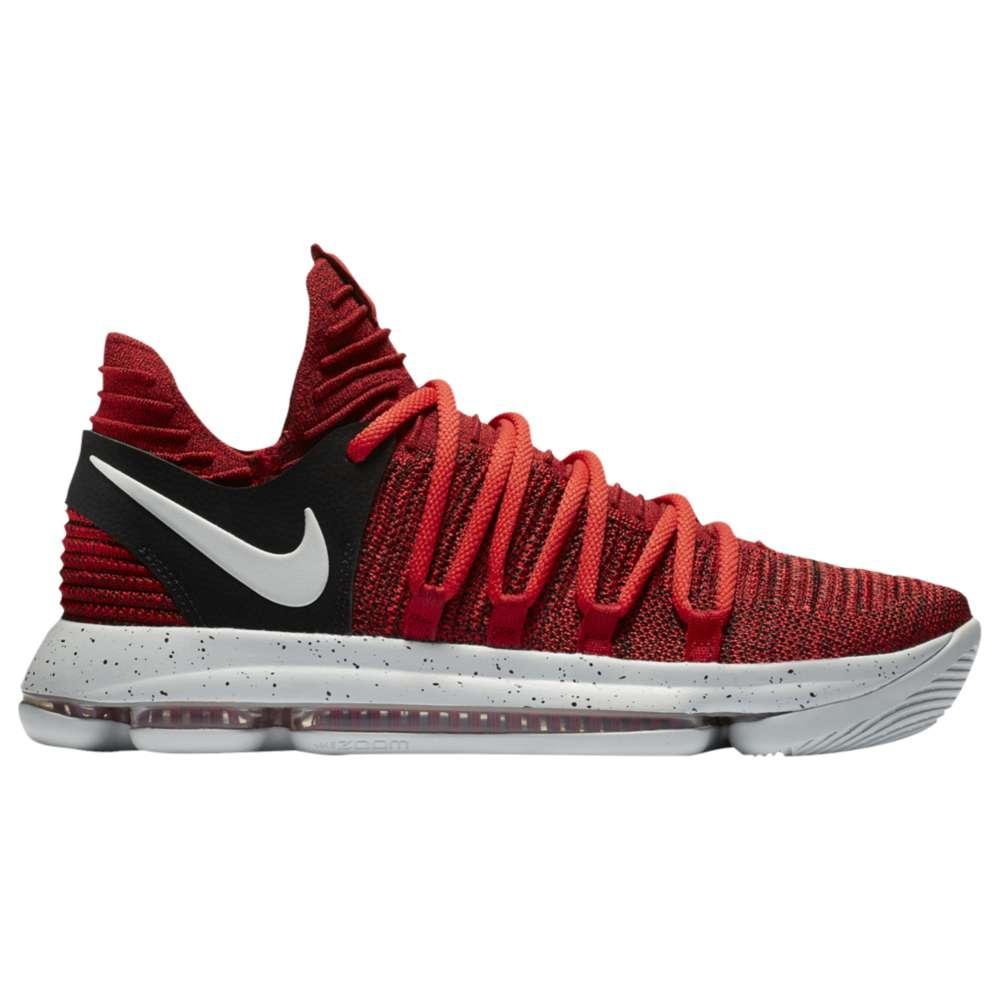 ナイキ Nike メンズ バスケットボール シューズ・靴【KD X】University Red/Pure Platinum/Black
