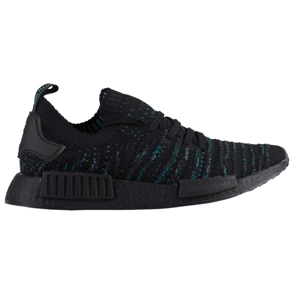 アディダス adidas Originals メンズ ランニング・ウォーキング シューズ・靴【NMD R1 STLT Primeknit】Black/Blue Spirit/Eqt Green