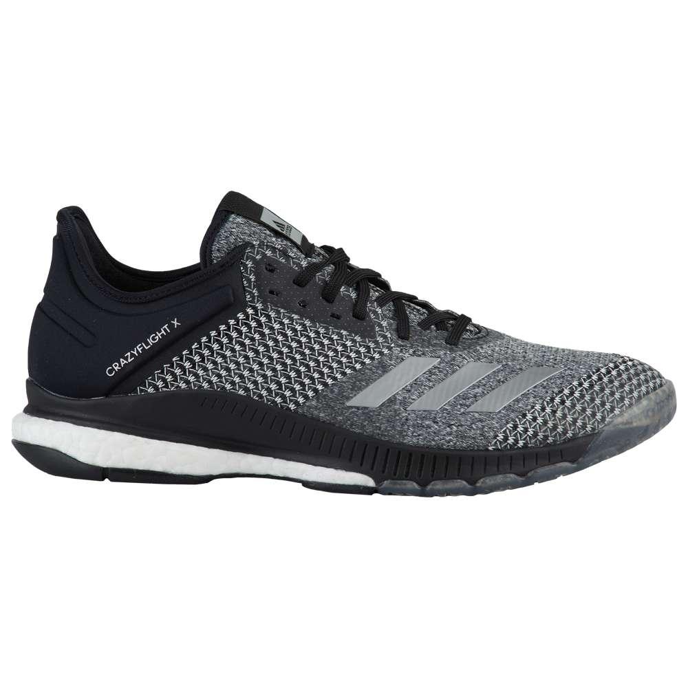 アディダス adidas レディース バレーボール シューズ・靴【Crazyflight X 2】Core Black/Silver/White