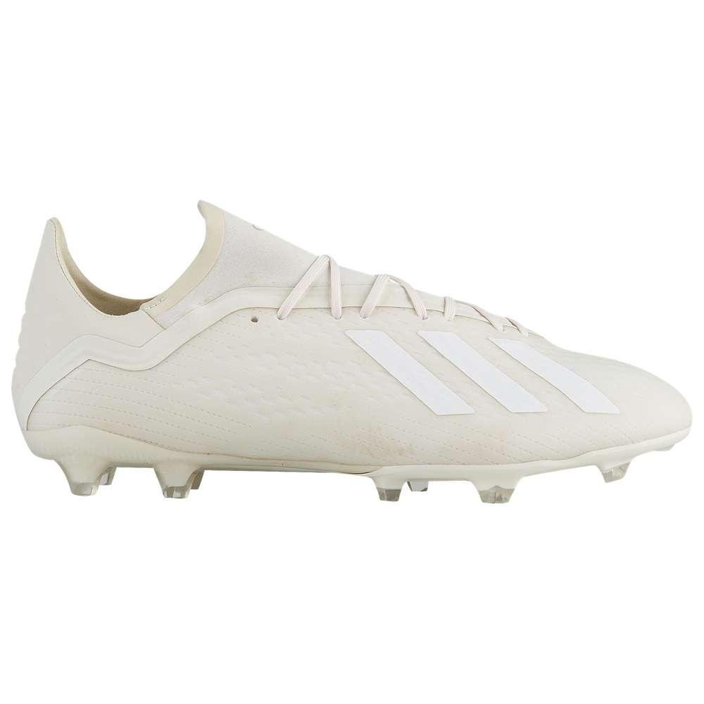アディダス adidas メンズ サッカー シューズ・靴【X 18.2 FG】Off White/Footwear White