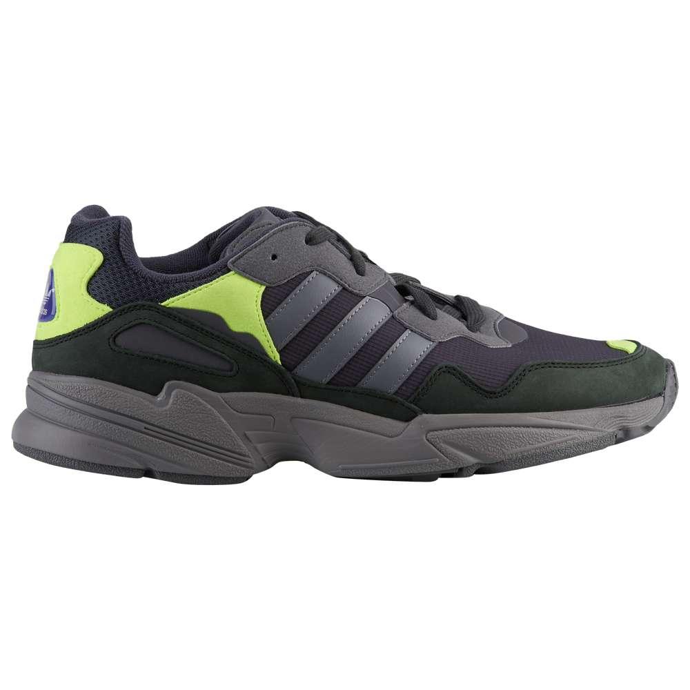 アディダス adidas Originals メンズ ランニング・ウォーキング シューズ・靴【Yung-96】Carbon/Grey/Solar Yellow