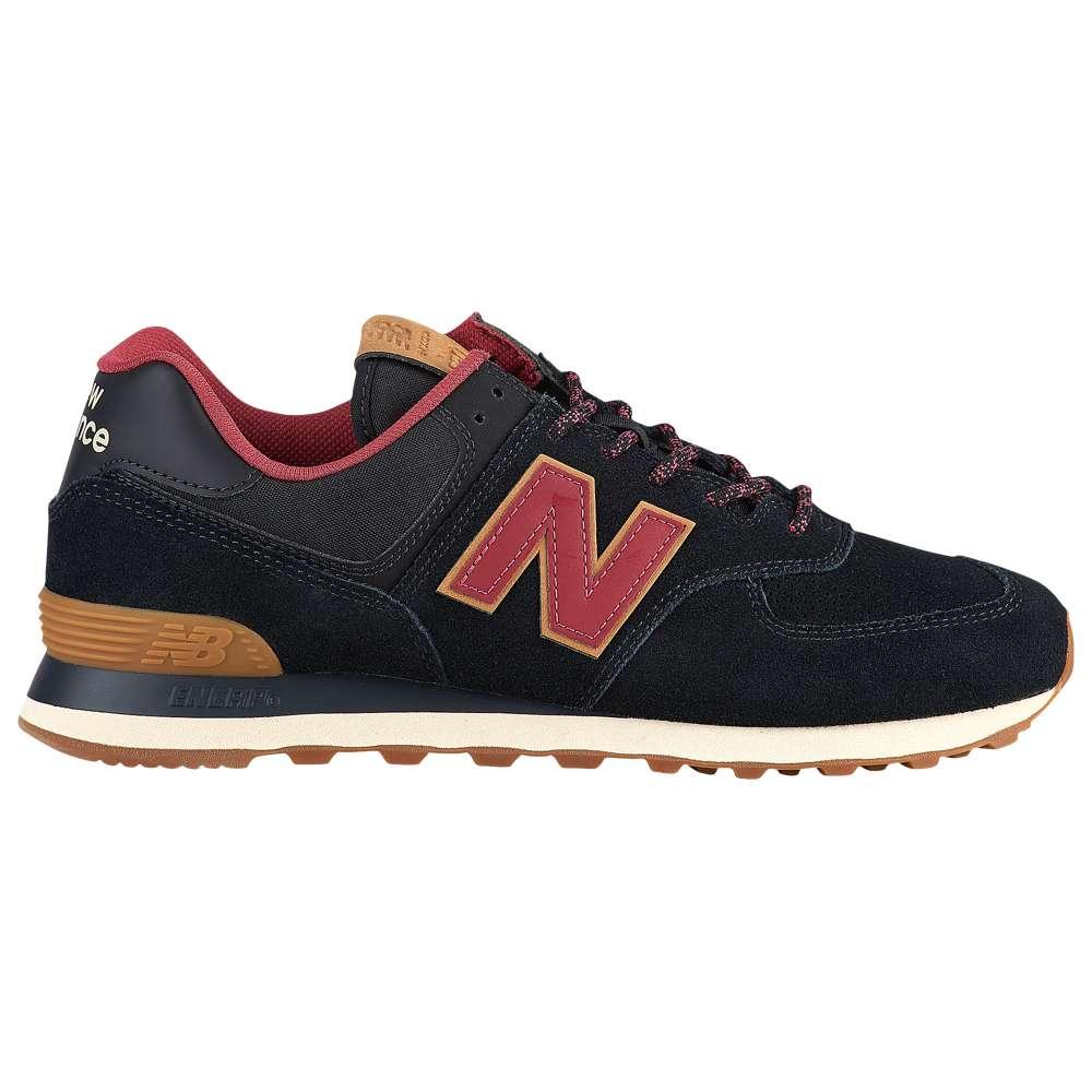 ニューバランス New Balance メンズ ランニング・ウォーキング シューズ・靴【574 Classic】Black/Earth Red