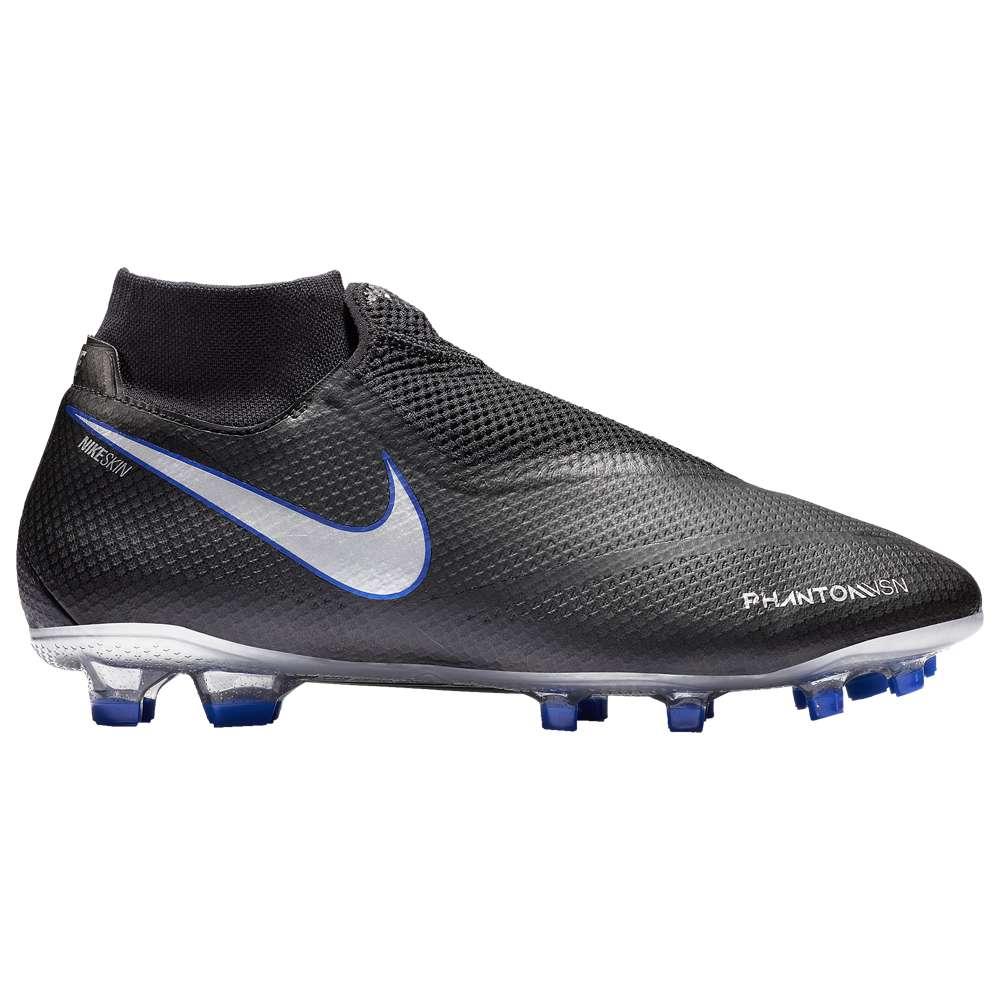 ナイキ Nike メンズ サッカー シューズ・靴【Phantom Vision Pro DF FG】Black/Metallic Silver/Racer Blue