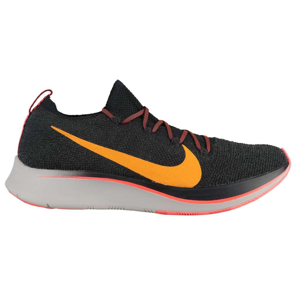 ナイキ Nike メンズ 陸上 シューズ・靴【Zoom Fly Flyknit】Black/Flash Crimson/Orange Peel