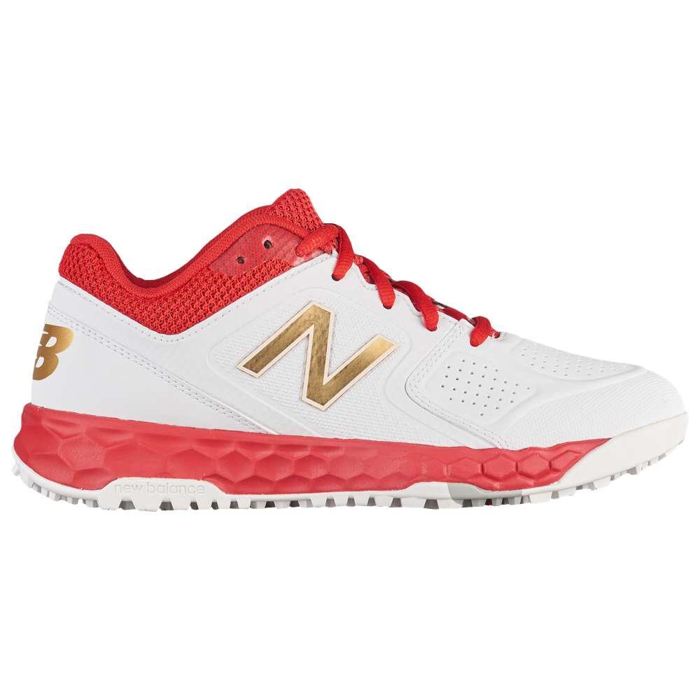 ニューバランス New Balance レディース 野球 シューズ・靴【STVELOv1 W Turf】Red/White