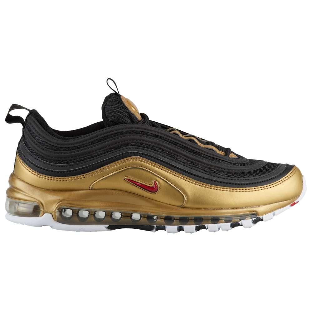 ナイキ Nike メンズ ランニング・ウォーキング シューズ・靴【Air Max '97】Black/University Red/Metallic Gold/White
