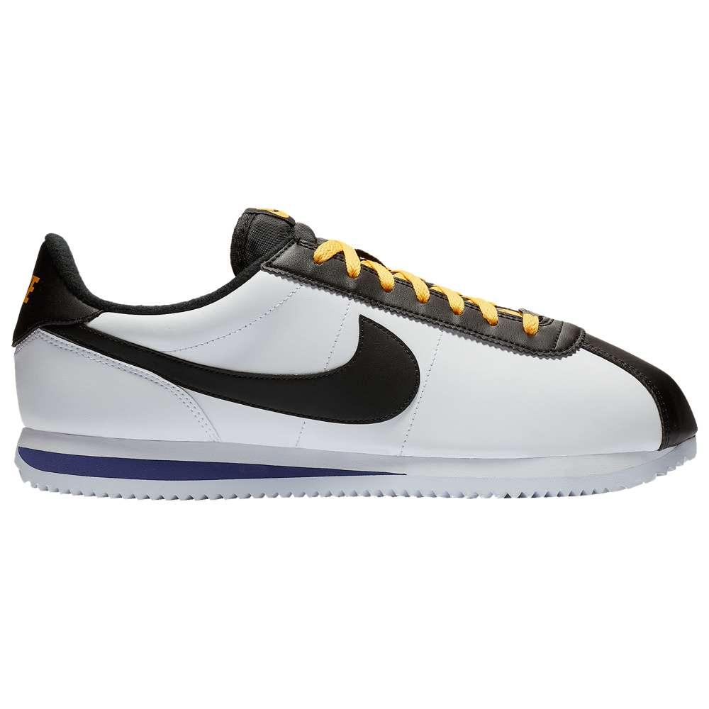 ナイキ Nike メンズ ランニング・ウォーキング シューズ・靴【Cortez】White/Black/Amarillo/Field Purple