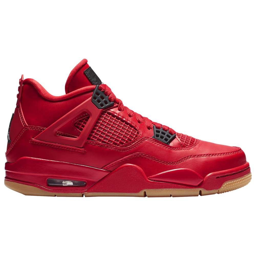 ナイキ ジョーダン Jordan レディース バスケットボール シューズ・靴【Retro 4】Fire Red/Summit White/Black