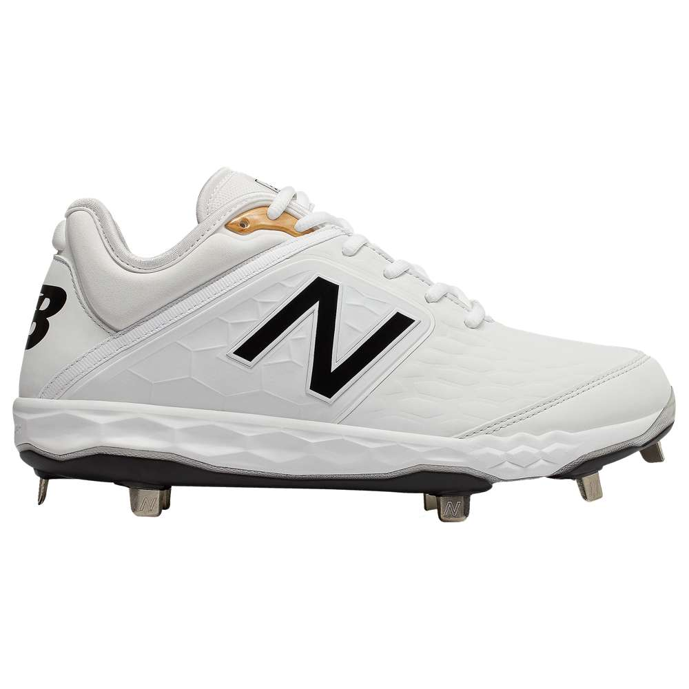 ニューバランス New Balance メンズ 野球 シューズ・靴【3000v4 Metal Low】White