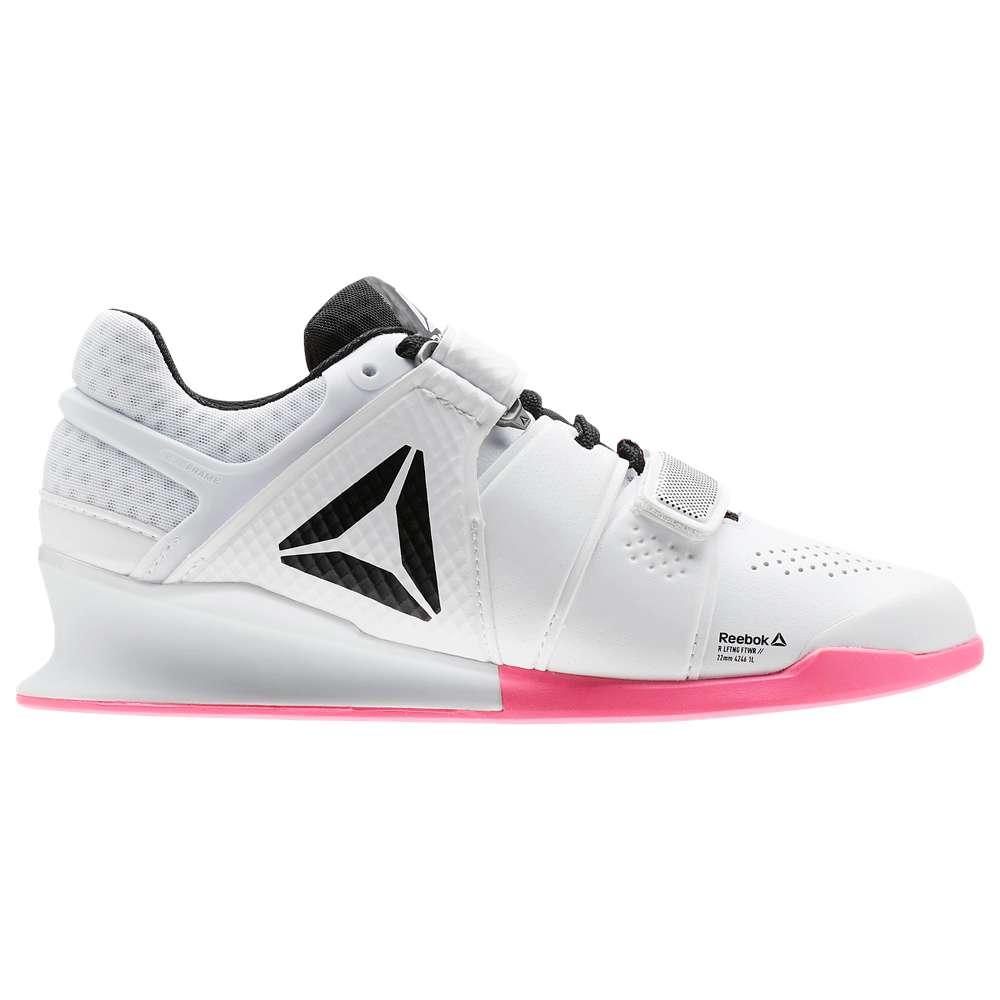 リーボック Reebok レディース フィットネス・トレーニング シューズ・靴【Legacy Lifter】White/Black/Acid Pink