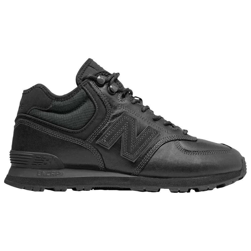 ニューバランス New Balance メンズ ランニング・ウォーキング シューズ・靴【574 Mid-Cut】Black