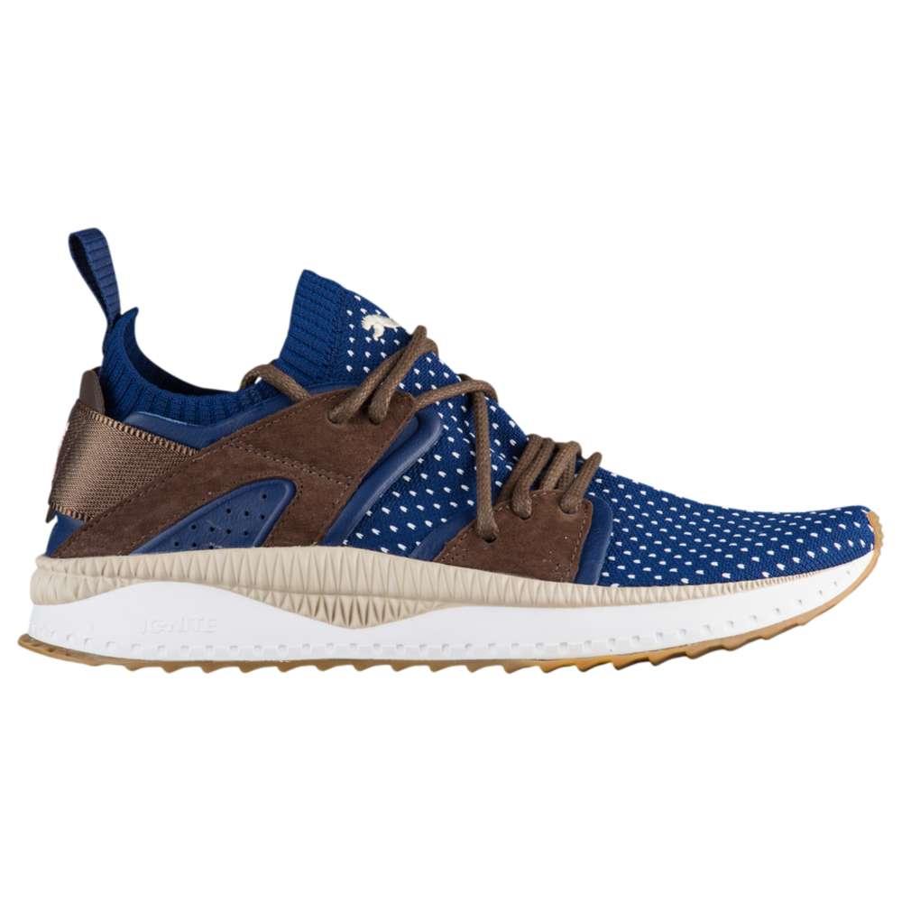 プーマ PUMA メンズ ランニング・ウォーキング シューズ・靴【Tsugi Blaze Evoknit】Blue Depths/Chocolate Brown