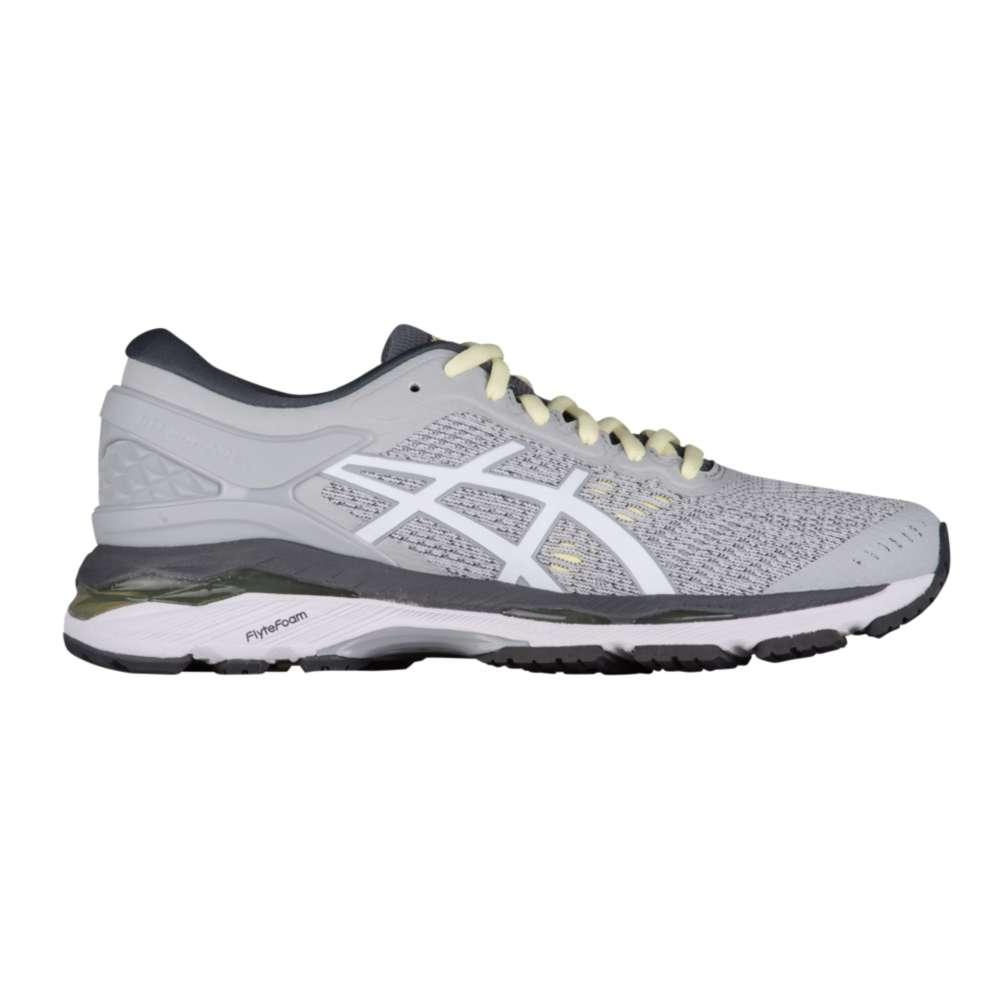 アシックス ASICS レディース ランニング・ウォーキング シューズ・靴【GEL-Kayano 24】Glacier Grey/White/Carbon