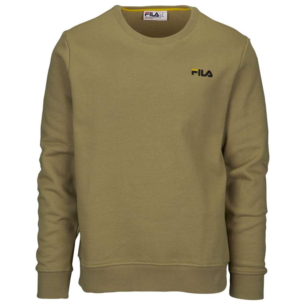 フィラ Fila メンズ トップス スウェット・トレーナー【Colona Sweatshirt】Dry Grass/Black/Citrus
