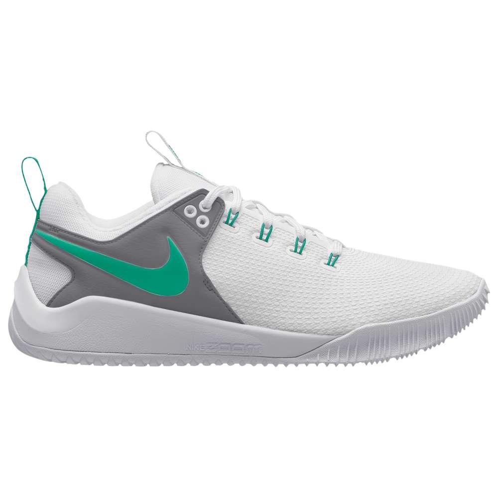 ナイキ Nike レディース バレーボール シューズ・靴【Zoom Hyperace 2】White/Menta
